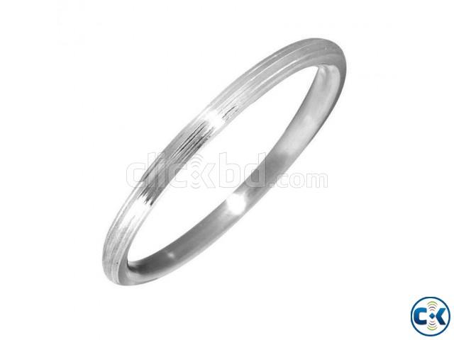 Khushal Steel Kada Bracelet | ClickBD large image 0