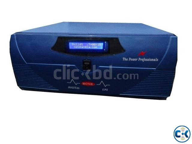 DSP Pure Sine Wave Digital UPS IPS 800VA | ClickBD large image 0