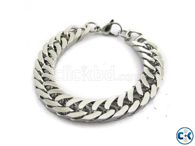 Newest Popular Mens plated bracelet | ClickBD large image 0