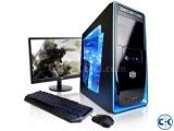Gaming Core i5 pc with 19 Led 3yrs wty