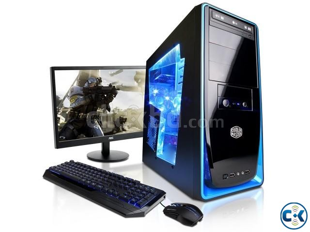 Gaming Core i5 pc with 19 Led 3yrs wty | ClickBD large image 0