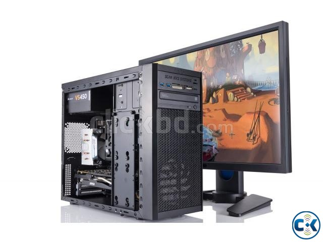 Gaming Core i5 pc with 19 Led 3yrs wty | ClickBD large image 1
