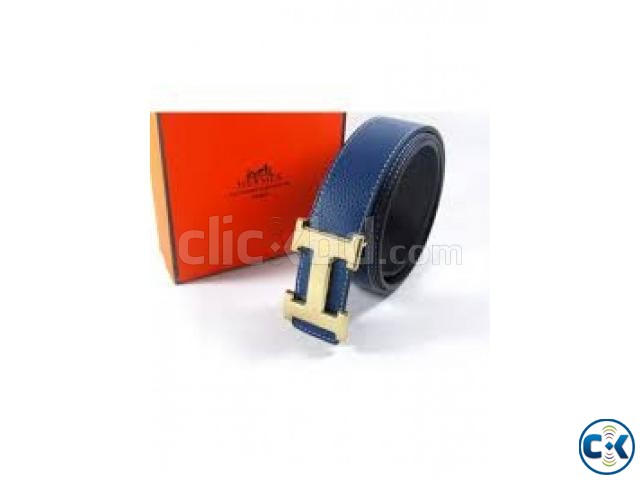 HERMES Belt intect box black | ClickBD large image 1
