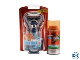 Gillette Fusion Power Razor with Free Hydra Gel 75ml Weigh