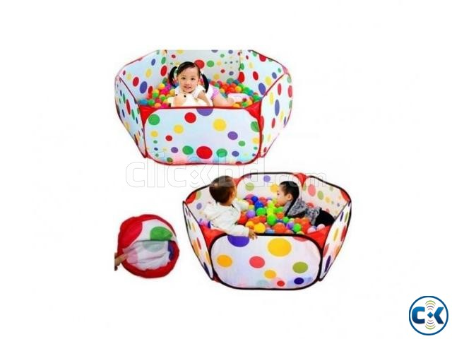 Toy Tent with 36 pcs ball | ClickBD large image 0