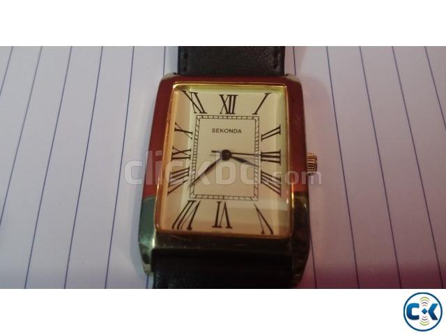 Very nice Gen s Designer watch by SEKONDA | ClickBD large image 0