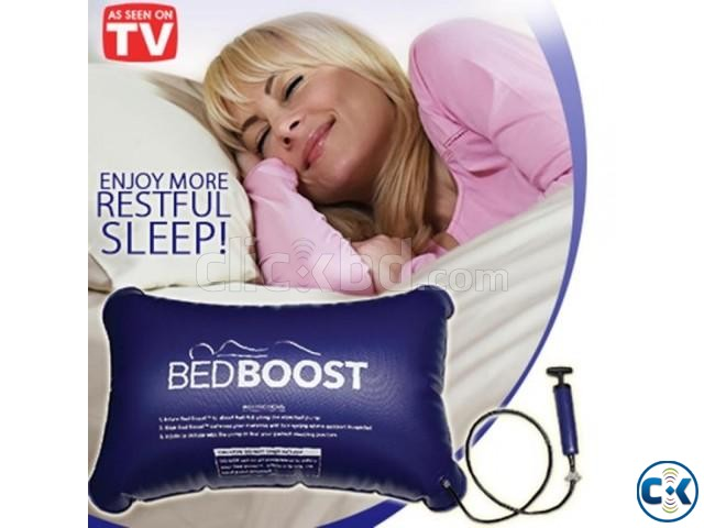 -BED BOOST Travel Air Big Pillow | ClickBD large image 0
