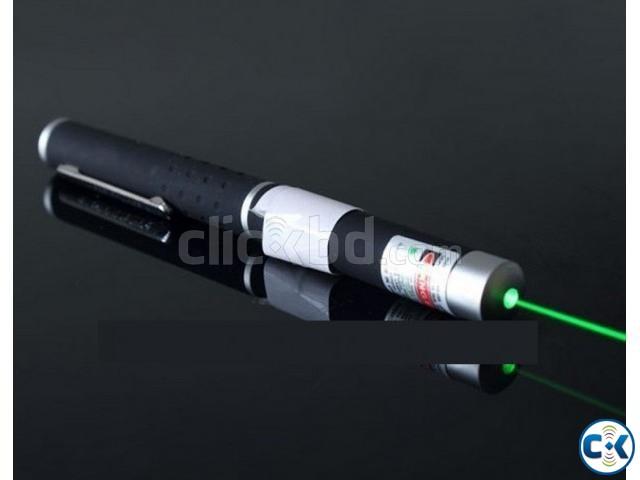 Long Range Green Laser Pointer-  | ClickBD large image 0
