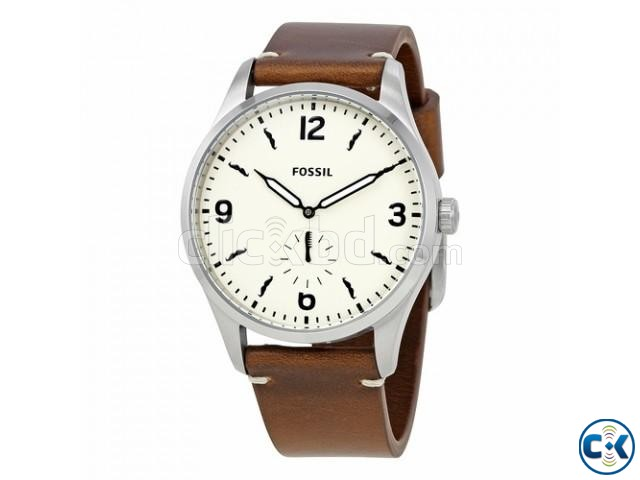 Orginial Fossil Vintage 54 Beige Dial Mens Watch FS5257 | ClickBD large image 0