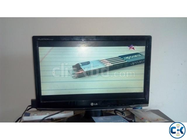 LG 20 LED Monitor with Gadme TV card 01709640221  | ClickBD large image 0