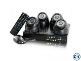 4pcs CCTV Camera package Price in Bangladesh