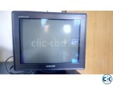 17 Samsung Flat Black Monitor 2000Tk
