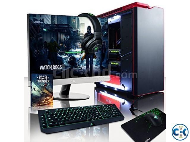 GAMING PC Core i3 4GB 320GB 19 LED | ClickBD large image 1