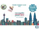 Malaysia visa in FRESH passport