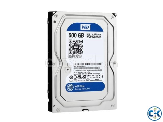 SATA HDD 500 GB - With 1 Year Warranty | ClickBD large image 0