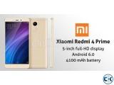 Brand New Xiaomi Redmi 4 Prime 32GB Sealed Pack 1 Yr Wrrnty