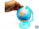 Children Money Saving Globe World-