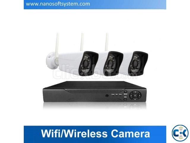3pcs Wi-Fi CCTV Camera Package Price in Bangladesh | ClickBD large image 0