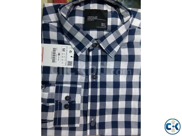 Stripe Men s cotton shirts | ClickBD large image 0