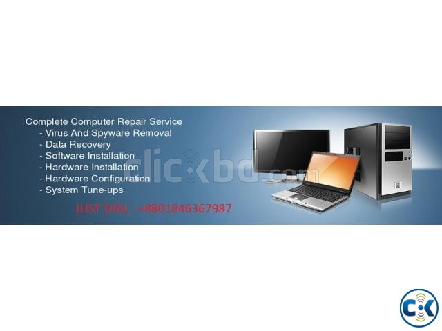 computer home servicing in Dhaka | ClickBD large image 0