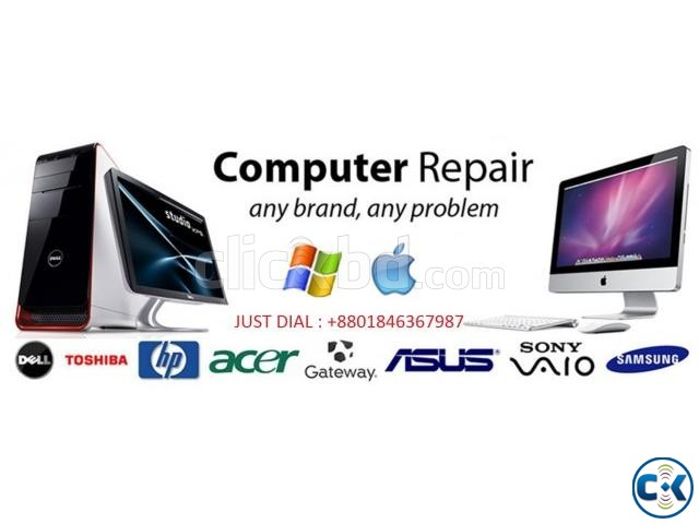 computer home servicing in Dhaka | ClickBD large image 1