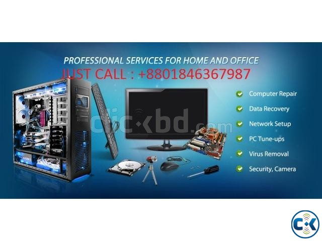 computer home servicing in Dhaka | ClickBD large image 2