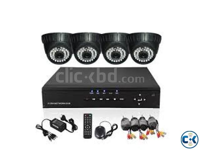 04 pcs CCTV camera setup | ClickBD large image 3