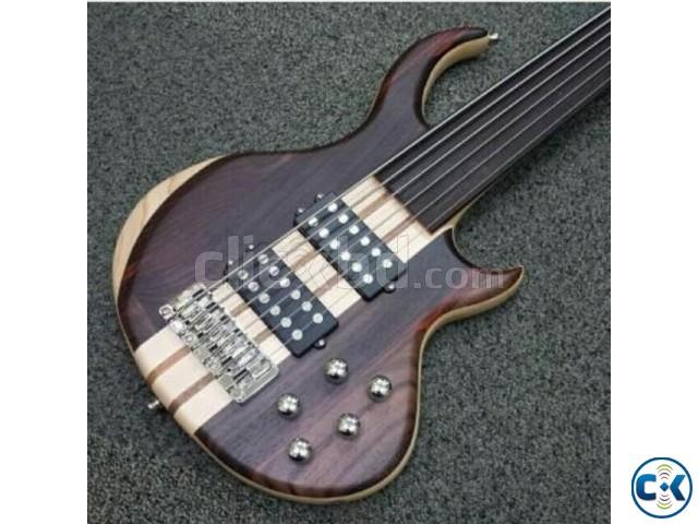 6 Strings Fretless Bass