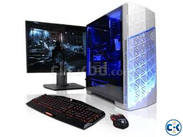 GAMING PC Core i5 2GB 250GB 17 LED | ClickBD large image 0