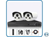 2 pcs IP CCTV Night Vision Camera package Lowest Price