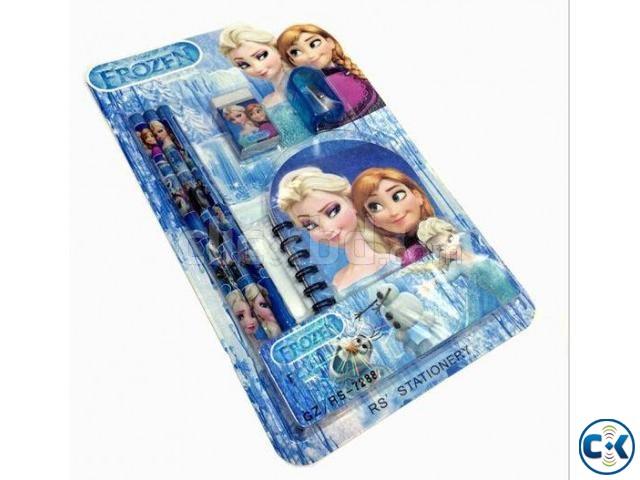 Frozen Princess Doll Pattern Stationer | ClickBD large image 0