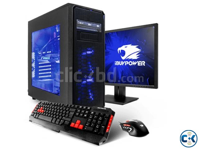 NEW FULL SET COMPUTER 3GHZ 2GB 160GB 17 HD LED | ClickBD large image 0