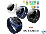 M26 Bluetooth Smart Mobile Watch Gear intact Box