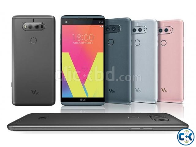 Brand New LG V20 64GB Sealed Pack With 1 Yr Warranty | ClickBD large image 1