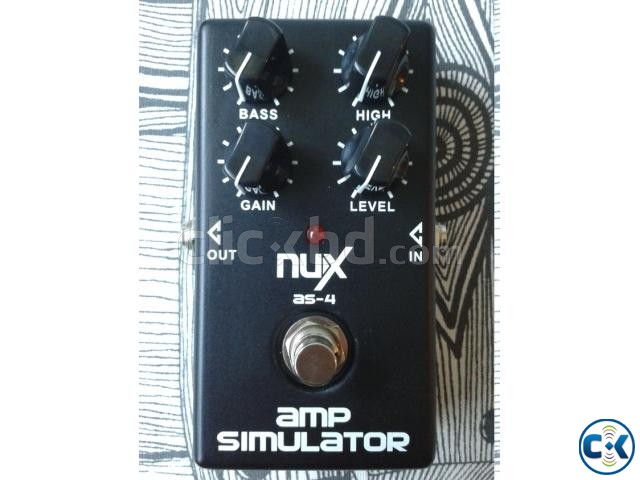 NUX AS-4 Amp Simulator | ClickBD large image 1
