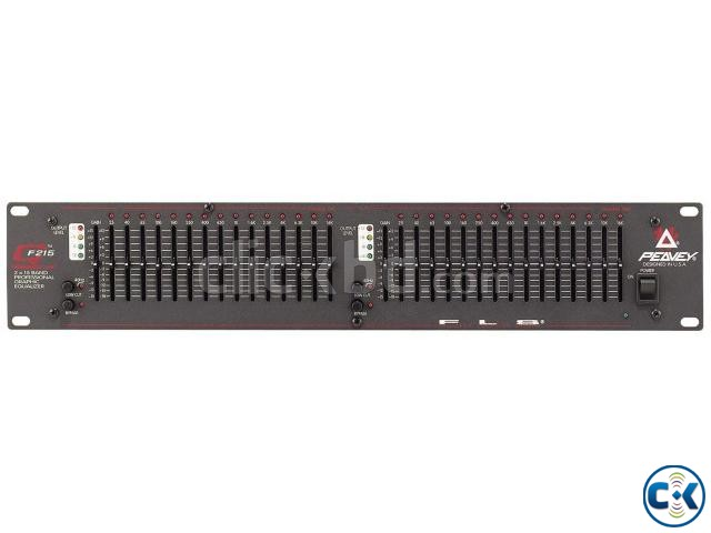 peavey f 215 professional graphic equalizer | ClickBD large image 0