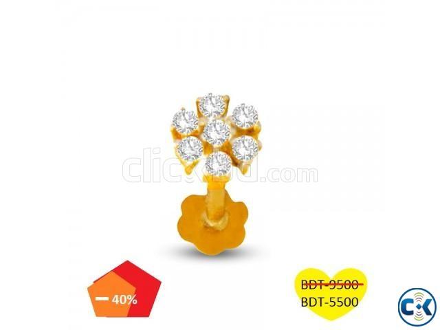 Diamond nose pin | ClickBD large image 0