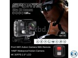 Pro4r Sports Action wifi camera with Remote