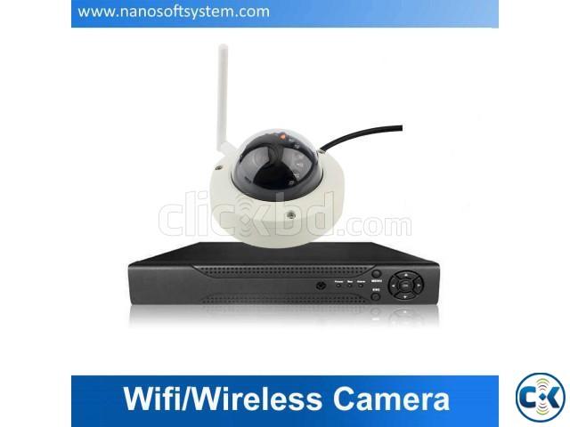 2pcs Wi-Fi CCTV Camera Package Price in Bangladesh | ClickBD large image 0