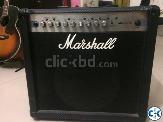 Marshall Mg50 Cfx Approx 7-8 months used  | ClickBD large image 0