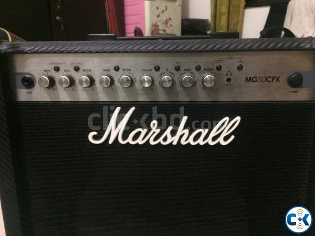 Marshall Mg50 Cfx Approx 7-8 months used  | ClickBD large image 1