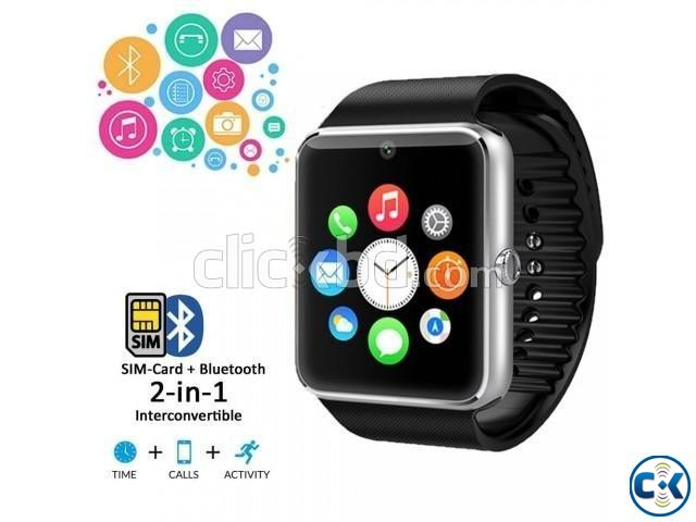 Smart Watch Popular Collection Selfi Stick Free  | ClickBD large image 1