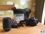 4months old but unused Nikon D7100 DSLR with Lens.