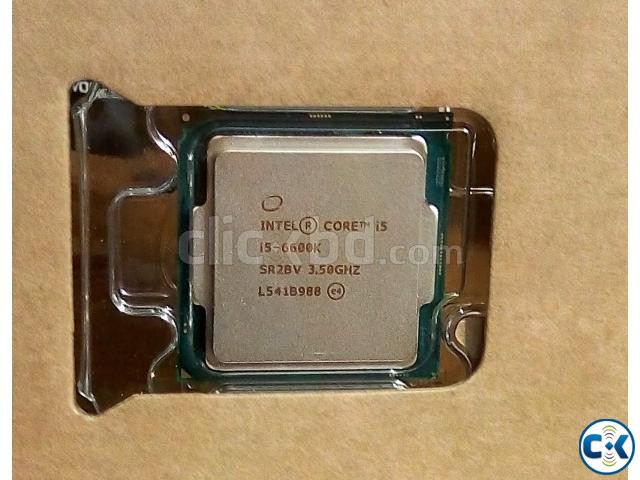 Intel Core i5-6600K Processor | ClickBD large image 0
