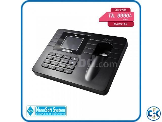 Fingerprint time attendance machine   ClickBD large image 0
