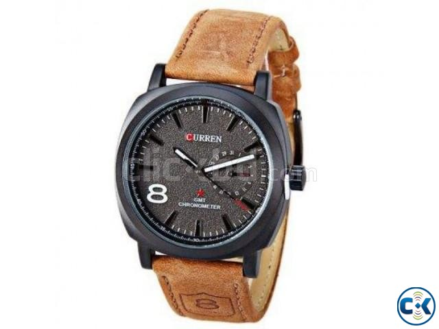 Top Quality Brown Color Curren Watch | ClickBD large image 0