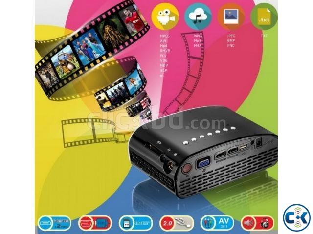 Orginal Dual HDMI Projector | ClickBD large image 0