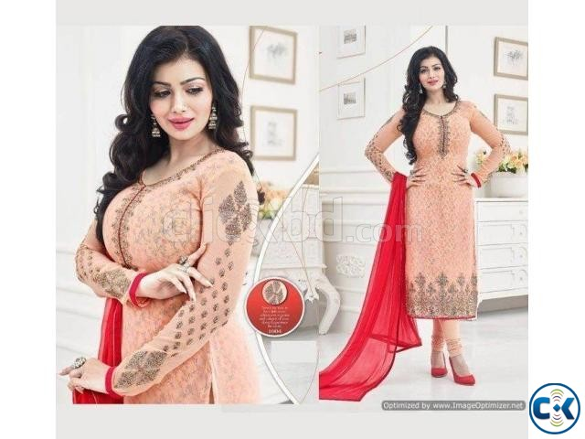 Indian Designer Embroidery Dress BNK 6896502  | ClickBD large image 0