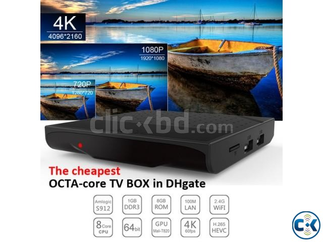 KM8P Octacore android tv box kodi loaded | ClickBD large image 1