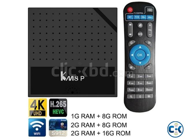 KM8P Octacore android tv box kodi loaded | ClickBD large image 2